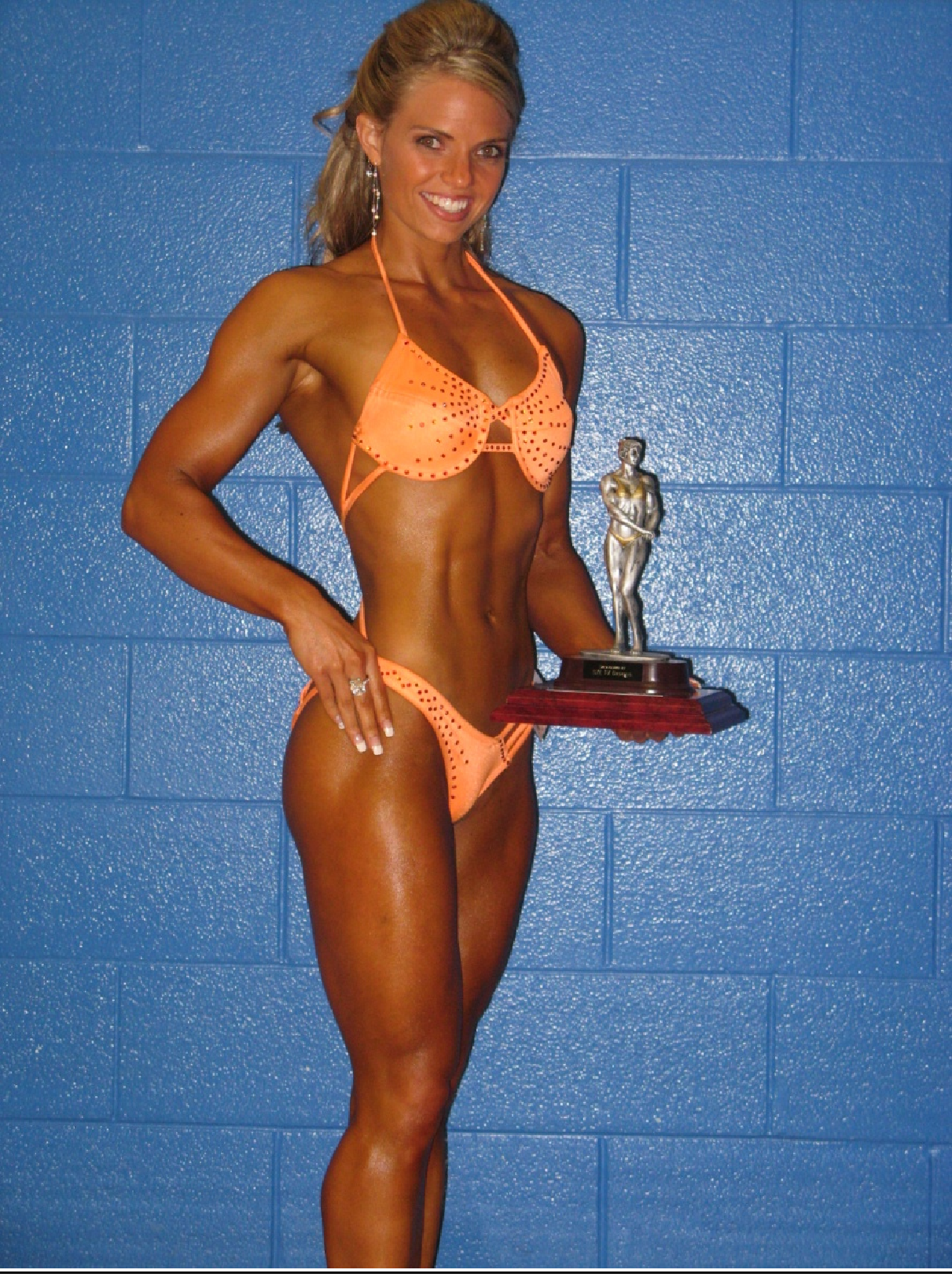 Amanda Graydon's athletic background made her win at the OPA Regional Figure Championships seem effortless